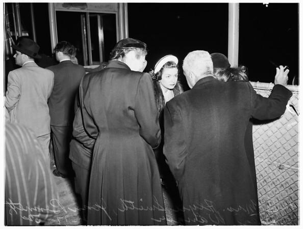 Wanger--Bennett (International Airport), 1952