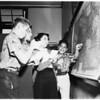 Foreign adjustment classes for new Americans in City Schools (Berendo Junior High School), 1952.