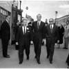 Harry Cohn funeral, 1958