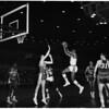Basketball, Los Angeles Lakers versus Cincinnati Royals, 1961