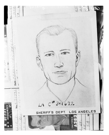Suspect in murder of two El Segundo officers, 1958