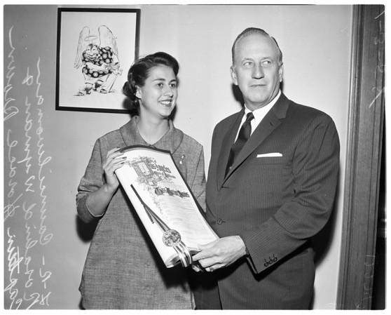 Rosalind Wyman (councilman), 1958