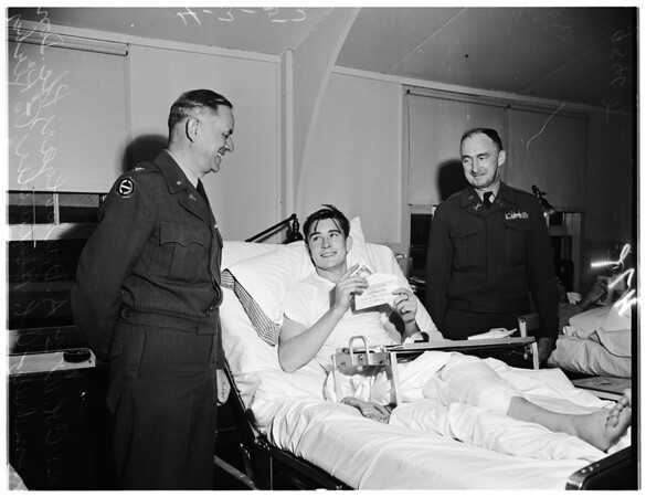 War wounded fund distribution (Camp Cooke), 1952