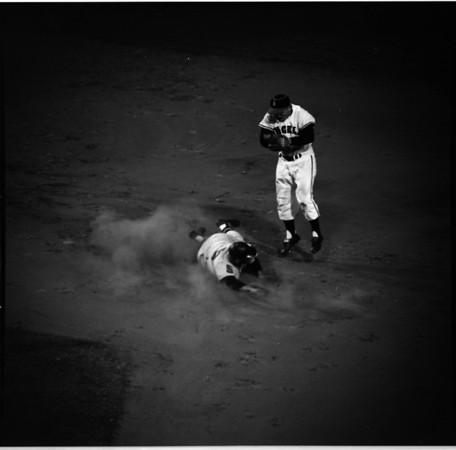 Baseball -- L.A. Angels versus Cleveland Indians, 1961
