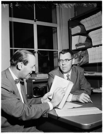 UCLA student, 1958
