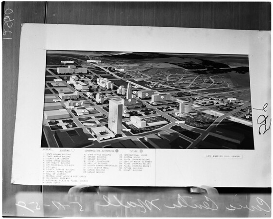 Civic Center Mall, 1959