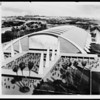 Just one man's idea. Stiles Clements sketch for proposed Sports Arena, ca. 1954