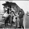 """La Ballona Fiesta """"train robbery"""", 1961"""