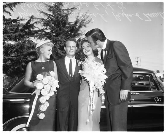 Lili Gentle wedding, 1958