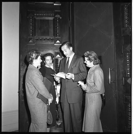 Smog gals at Sacramento (associations - S.O.S.), 1959