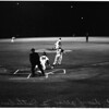 Baseball... Los Angeles Dodgers versus Pirates, 1961