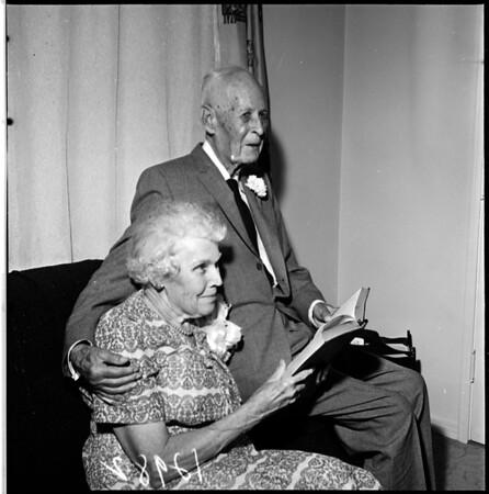 60th wedding anniversary, 1961