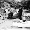 Arechiga family leaves Chavez Ravine, 1959