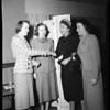 Theta Sigma Phi meeting at Los Angeles Athletic Club to plan dinner, 1952