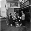 English buses, 1952.