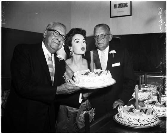 Lawry's twentieth anniversary, 1958