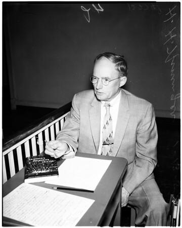 American meteoriticist, 1958.