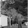 Protest blasting in Bel Air, 1958