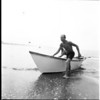 Two-mile dory race at Venice, 1961