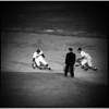 Baseball... Los Angeles Dodgers versus Saint Louis Cards, 1961