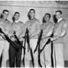 University of Southern California NROTC rifle team, 1958