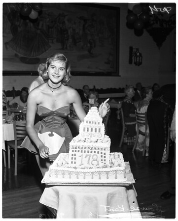Los Angeles birthday, 1959