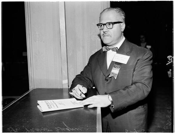 International Congress of Surgeons, 1958