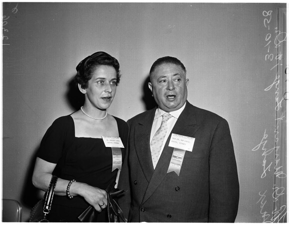 Surgeons conference, 1958