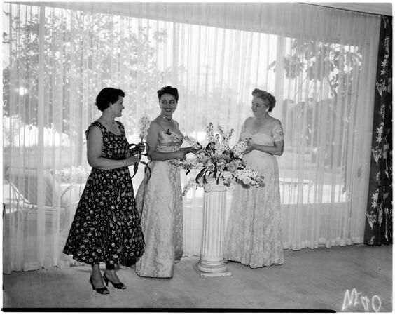 Santa Monica Breakfast Club plan Diamond Ball, 1958