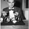 Watch maker, 1956