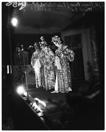 Chinese opera, 1958