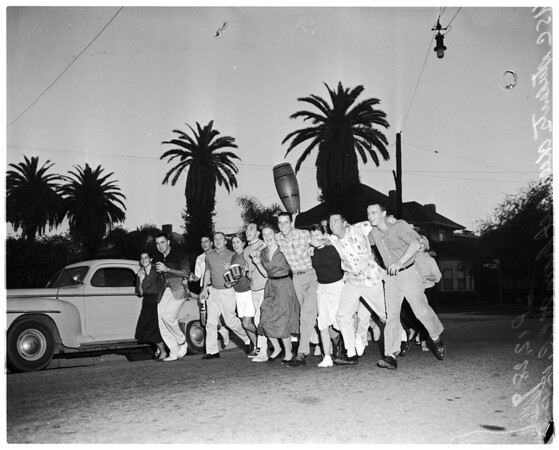 Athletes -- Pacific Coast Conference, 1957