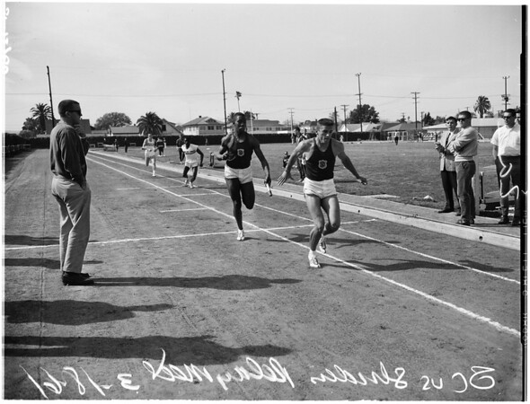 University of Southern California versus The Striders relays meet, 1961