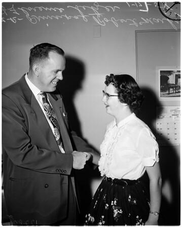 Bill of Rights contest winner, 1958