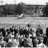 President Eisenhower at Exposition Park, 1958