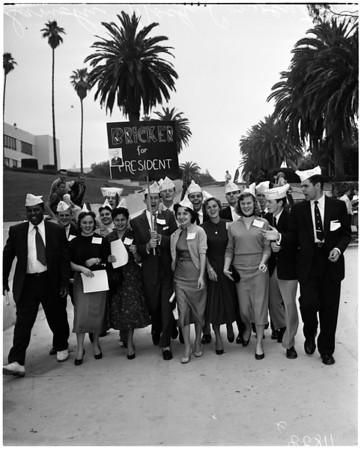 Samohi mock convention, 1956