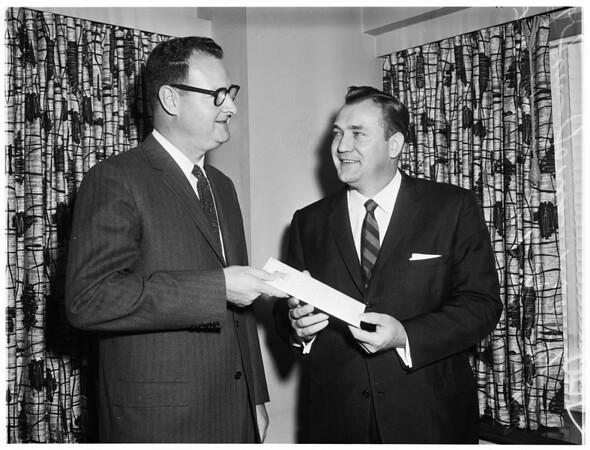 Author, lecturer, et cetera, 1958