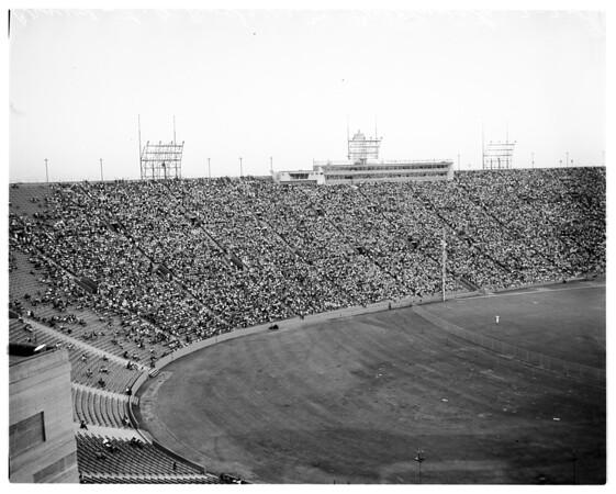 Baseball... Los Angeles Dodgers versus Cincinnati, 1961