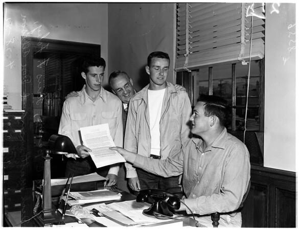 Boys week (Hollywood High School), 1952.
