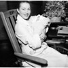 Eleanor Parker and baby, 1958