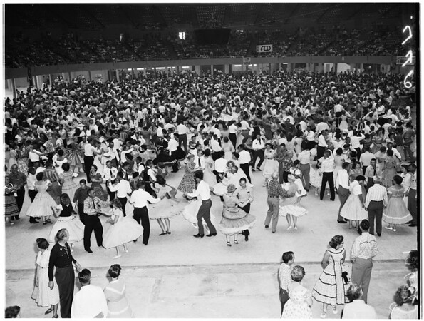 Los Angeles Sports Arena (Associated Square Dancers), 1959