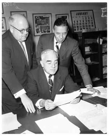 Examiner Bill of Rights contest judges, 1958