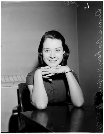 Film contract, 1958.