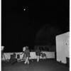Moon eclipse televised from Griffith Park Observatory, 1957