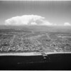 Aerial view of Los angeles Basin (Lind Flight Service), 1959