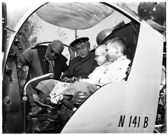 Crippled children drive, 1958