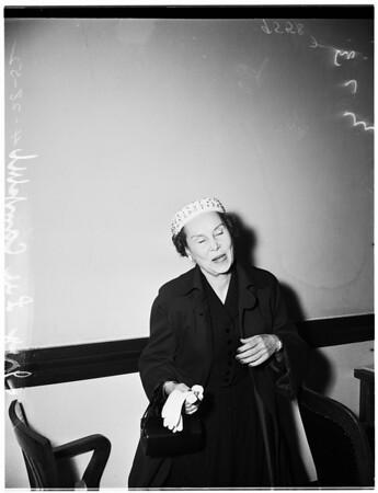 Will contest, 1952.