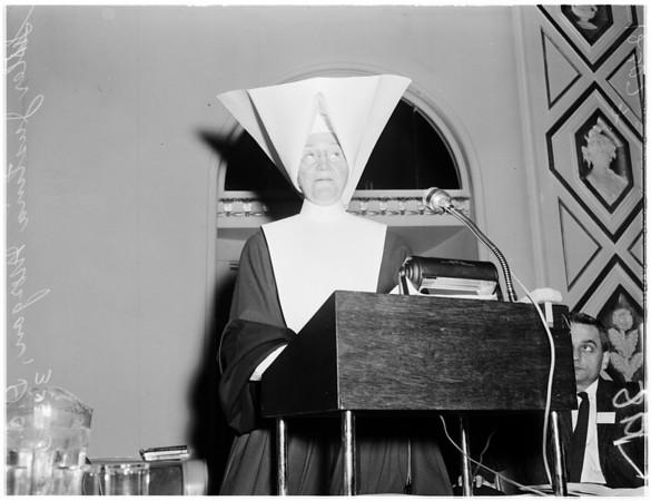 Hospital Forum, 1958