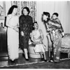 World Friendship Club Chinese fashion show, 1952