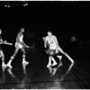 Basketball... Los Angeles Lakers versus St. Louis Hawks, 1960